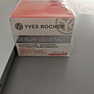 New Yves Rocher serum vegetal sleeping care